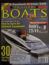 Trailer Boats Magazine August 2001 Monterey's 248LS Honda's 225 V-6 (H)