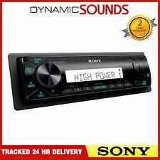 Sony DSX-M80 Mechless Marine 4x100W Stereo Tuner USB AUX USB Bluetooth Receiver