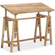 Vidaxl legno massello di Mango tavolo da Disegno tecnico inclinabile scrivania