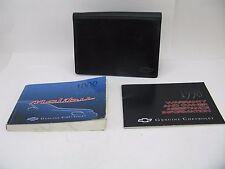 Chevy Malibu 1998 98 Owners Manual Set Chevrolet Chev Free Shipping