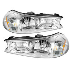 Ford 98-00 Contour Chrome Housing Replacement Headlights