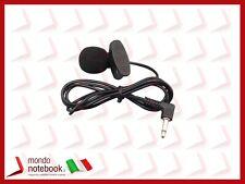 Microfono Alta qualità con Clip - Jack 3,5mm ideale per Pc Desktop e Laptop