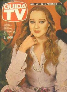 GUIDA TV 1977 N.5 ELEONORA GIORGI JACK LEMMON VIANELLO MONDAINI FAYE DUNAWAY