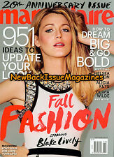 Marie Claire 9/14,Blake Lively,September 2014,NEW