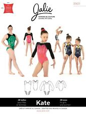 Jalie Kate Gymnastics Leotards Sewing Pattern # 3901 Women's XS-2XL, Girls 2-13