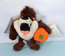 Cute Taz as Vampire Holding Pumpkin Mini Beanbag Doll