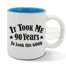 IT TOOK ME 90 years to look this good mug cup, 90th birthday, vintage year 1927