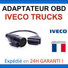 Adaptateur OBD2 vers IVECO TRUCKS 30 BROCHES - DIAG Auto Valise ELM327 COM