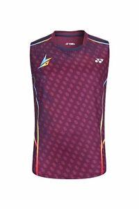 New Outdoor sports Sleeveless Tops tennis Clothing Men's badminton T-shirt