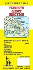 City Street Map of Plymouth, Quincy, Brockton, Massachusetts, by GMJ