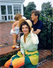John F. Kennedy-Jacky Kennedy-Caroline Kennedy-1959 Photo Prior to Presidency