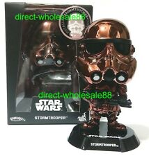 Hot Toys Star Wars Stormtrooper Cosbaby Metallic Copper Version Bobble Head