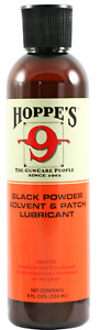 Hoppes No. 9 Plus Powder Solvent and Patch Lubricant 8 oz Black Finish 999