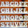 Standing/Hanging Alphabet Letter Lights LED Light Up White Wooden Letters Home