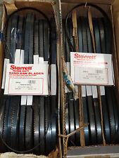 3 Pcs Starrett 3pr10 44 78 X 12 X 020 10 Tpi Portable Band Saw Blades 11156