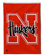 Nebraska Huskers 28 x 40 Banner Flag New In Package