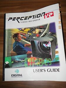 "Digital Processing Systems Inc Perception VR Users Guide & Software on 3,5"" Disc"