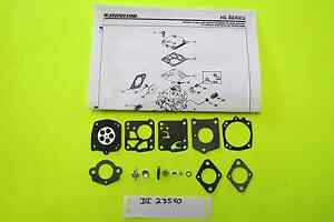 Homelite XL76 XL123 XL130 Tillotson HS125 HS132 Carburetor Carb Kit
