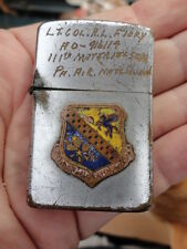 Vintage Named Air National Guard Lighter / Double DI's Inset!!