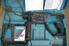 MAKITA DHR202 SDS+ 18v CORDLESS HAMMER DRILL 3 MODE CHISEL ACTION