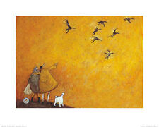 Sam Toft The McWaters Maiden Voyage Contemporary Humor Print Poster 19.5x15.75