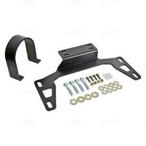BMR Front Driveshaft Safety Loop Black Hammertone FITS 11-14 S197Mustang DSL017H