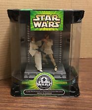 STAR WARS POTF Silver Anniversary Swing to Freedom Luke & Leia Playset