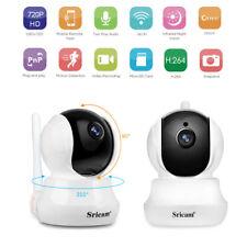 720P HD Camaras de Vigilancia Cámara IP Inalámbrica WIFI Visión Nocturna ES