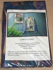 "Carolyn White ""Carolyn Jacket"" Knit Pattern for All Figures w/ Woven Vest Shell"
