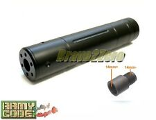 Airsoft P90 Type Spec. Op. 155mm Barrel Extension 14mm CW + CCW