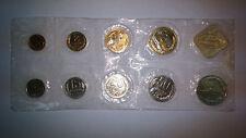 1991 Russia USSR 9 coins plus jeton Leningrad Mint set