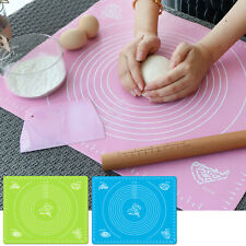 NEW Non Stick Silicone Baking Mat Rolling Pastry Dough Fondant Pad 19.9'' x 16''