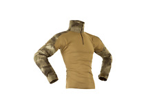 COMBAT SHIRT A-TACS BROWN INVADER GEAR