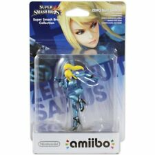 Zero Suit Samus No. 40 Super Smash Bros Nintendo Wii U 3DS 2DS Amiibo Character