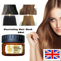 Magical keratin Hair Treatment Mask 5 Seconds Hair Root Repair Nourishing 60ML *
