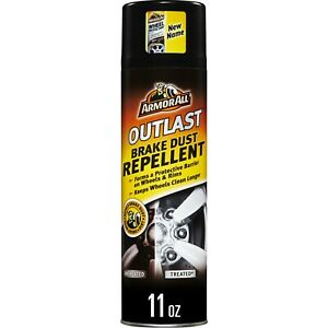 Armor All Car Brake Dust Repellent, Cleaner for Tires, Wheels, and Rims,