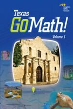 Go Math Texas Grade 4 Teacher Edition Set 2015 All Chapters 4th