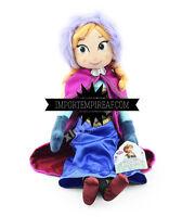 FROZEN ANNA PELUCHE 40 CM PUPAZZO BAMBOLA plush doll elsa olaf swen figure figur