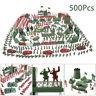 500x Militär Armee Soldaten Spielzeug Kit Männer Figuren Zubehör Modell Geschenk