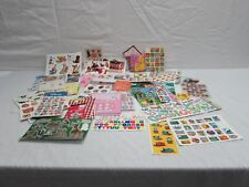 Large lot of Children's Stickers Disney Lisa Frank animals barbie hot wheels etc