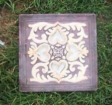 gostatue MOLD 4 heart tile mold plaster concrete abs plastic mould