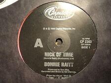 """Bonnie Raitt """"Nick Of Time"""" Excellent Oz 7"""""""