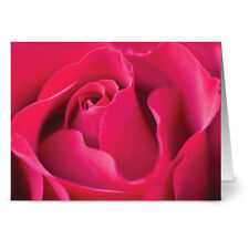 24 Floral Note Cards - A Rose By Any Other Name - Yellow Envs