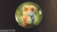 SHARING SECRETS FOURTH PLATE DONALD ZOLAN CHILDHOOD FRIENDSHIP COLLECTION 1988