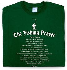 Fishing Prayer T Shirt - Mens Fishing Angling gift for Dad Grandad Him