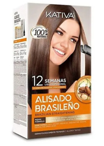 Kativa Keratin and Argan Oil Brazilian Straightening For Natural Hair