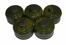 5 pc lot replacement civilian gas mask filter NATO ISRAEL USSR 40mm canister GP5