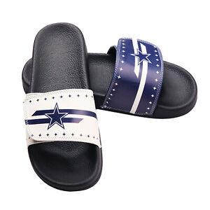 Dallas Cowboys Small 6/7 Sport Slide Sandals/Slippers