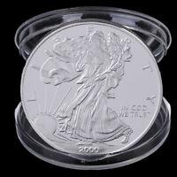 1Pc Pièce de monnaie commémorative du dollar australien en argent du Musée