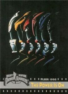 MIGHTY MORPHIN POWER RANGERS THE MOVIE (Fleer 1995) single trading cards